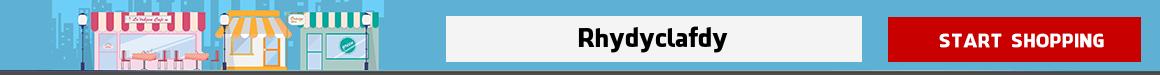 online grocery shopping Rhydyclafdy