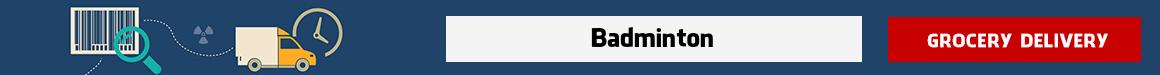 order groceries online Badminton