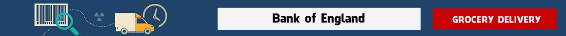 order groceries online Bank of England
