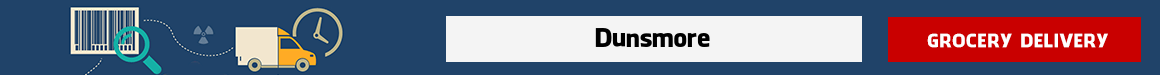 order groceries online Dunsmore
