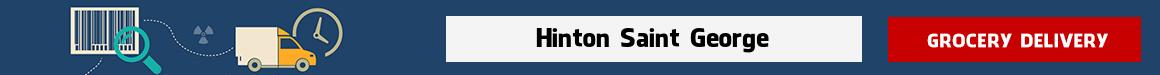 order groceries online Hinton Saint George