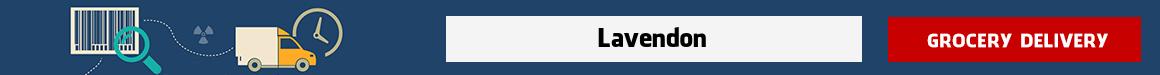 order groceries online Lavendon