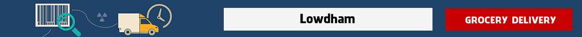 order groceries online Lowdham