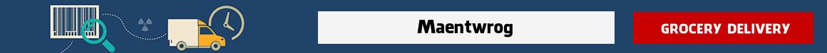 order groceries online Maentwrog