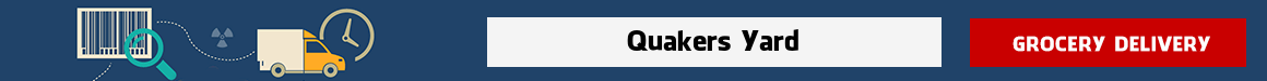order groceries online Quakers Yard
